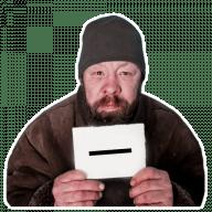 Стикеры Бомжи для Телеграм